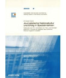 Journalistische Nationalkultur und Erfolg in Spezialmärkten