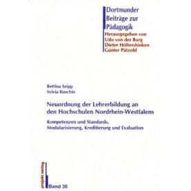 Neuordnung der Lehrerbildung an den Hochschulen Nordrhein-Westfalens
